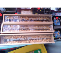 Varita Mágica Harry Potter + Caja De Madera Hermione Ron Igo