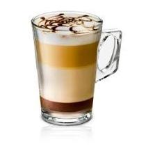 Copo De Vidro Para Cafe Italiano Frances Nespresso Kit 6 Pc