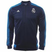 Sudadera Chamarra Anthem Real Madrid Adidas Aa1662