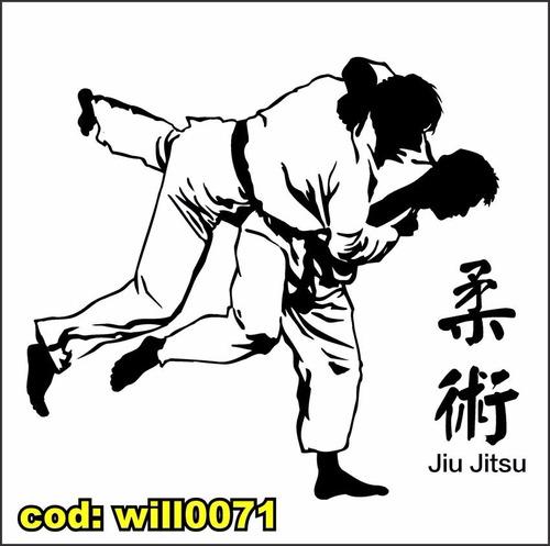 Artesanato Russo Em Sp ~ Adesivo De Parede Silhueta Luta Jiu Jitsu Academia Will0071 R$ 108,86 em Mercado Livre