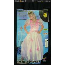 Disfraz De Princesa Encantada. Carnavalito