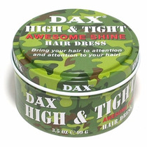 Dax High Tight Cera Pomada P/ Cabelo Maior Fixação E Brilho