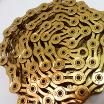 Cadena Kmc X9sl Gold 9 Veloci Superlite Refacciones Mtb Ruta
