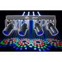 Raio De Sol De Led Prisma Com 4 Spots 4play Chauvet Pro Dmx