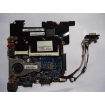 Placa Mãe Netbook Login Ntv00 La-5661p Intel Atom Completa