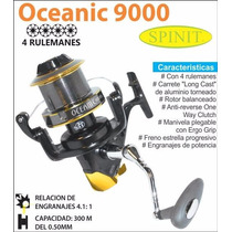 Reel Frontal Spinit Oceanic 9000. Casting 300 M/0.50 Mm