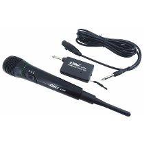 Microfone Profissional Sem Fio Completo + Cabo Transmis
