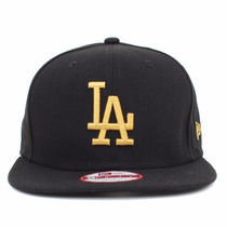 Boné New Era Aba Reta Snapback Aberto Los Angeles Dodgers