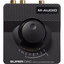 M-audio Super Dac-ii Conversor De Señal Digital A Analógica