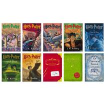 Coleção Completa Harry Potter - Capa Original - 10 Livros