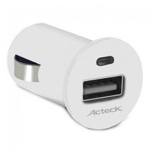 Cargador Acteck Teck To Go Cd-001, Auto, Encendedor De Ciga