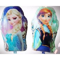 Balão Metalizado Personalizado Frozen Disney - Kit C/ 20