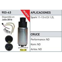 Bomba Gas Electrica Chevy Spark 1.2l Incluye Repuesto 11-13