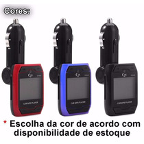 Transmissor Modulador Fm Wireless Sem Fio Veicular Carro Mp3