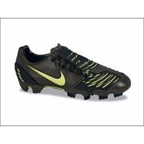 Taco Nike Total 90 Laser Ii Fg Ltd Negro Profecional Nuevo