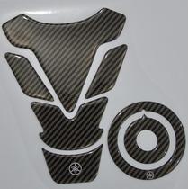 Protetor Tanque Tankpad + Bocal C02 Moto Yamaha Factor Ybr