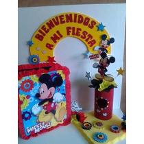 Combos Fiestas Infantiles Personalizado Figura,piñata,chupet