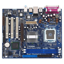 Mother 775 Asrock 775i65g Ddr X2 Intel Agp Outlet Sin Vga