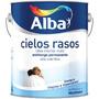 Latex Para Cielorraso Alba 20lts Antihongo +1 Rodillo De 22
