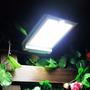 Lâmpada Solar 46 Leds- Sensor De Movim. - Frete Grátis Sedex