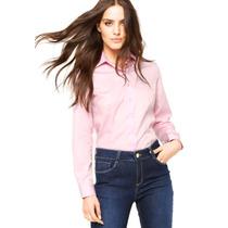 Camisa Dudalina Feminina - Rosa