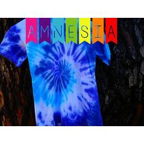 Remera Niño - T.16 - Batik Hippie Tie-dye - Teñido Artesanal