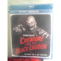 Blu Ray Monstruo De La Laguna Negra Universal Monsters