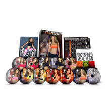 Jillian Michaels Body Shred 12 Dvds - Insanity P90x Crossfit