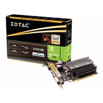 Placa De Video Nvidia Gt730 1gb Ddr3 Pci Express X16 C/ Nf