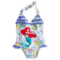 Traje De Baño La Sirenita Ariel Disney Store Original De Usa
