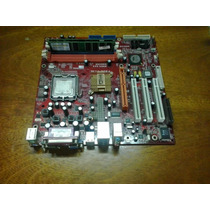 Kit Placa Mãe Pc Chips P23g Lga 775 + 2 Gb Ram - Tudo Ok