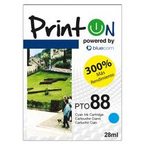 Printon Cartucho Compatible Con Hp #88xl 69ml, Serie 88