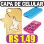 Kit Lote Capas Celular Baratas Lg Iphone 4 4s 1,49 - Oferta