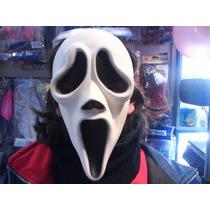 Disfraz Mascara Latex Scream Screem Elastico Spook Halloween