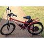 Bicicleta Elétrica 36 V 600 W Vermelha Modelo Comfort