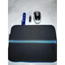Kit Mini Lapto,tablet Targus Mouse Inalambrico,hub, Estuche