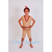 Disfraz Indio Fiesta Patria Acto Escolar Venta No Alquiler