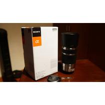Excelente Lente Sony E-mount 55-210mm,como Nuevo! Con Regalo