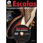 Libro De Guitarra Escalas Libro+dvd