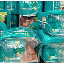 Fraldas Pampers Total Confort - Tamanho G - 172 Unidades