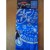 Kumamon Prefectura Japon Souvenir Pañuelo Bandana Paliacate