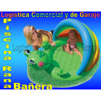 Piscina Inflable Ranita Con Parasol Para Bebe 57416 Intex