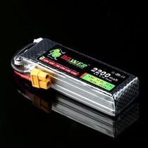 Bateria Lipo 11.1v 2200mah 40c 3s Turnigy Zippy Trex 450 Hk