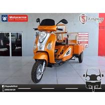 Moto De Carga Y Pasajeros 110cc (trimoto Motocarro Mototaxi)