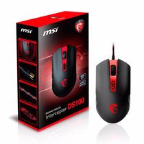 Mouse Gamer Msi Interceptor Ds100 Gaming 3500 Dpi Led Usb