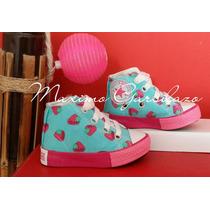Zapatillas Star De Lona Niños Y Niñas Botitas Colores !