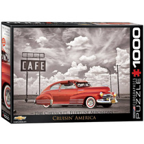 Eurographics 1948 Chevrolet Fleet Line Aero Sedan Jigsaw Puz