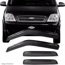 Calha Defletor De Chuva Chevrolet Meriva 03 11 4 Portas