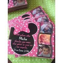 Imanes Souvenirs Todos Los Personajes. Minnie Y Mickey