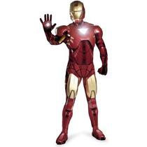 Disfraz Coleccionable De Iron Man Para Adultos Envio Gratis